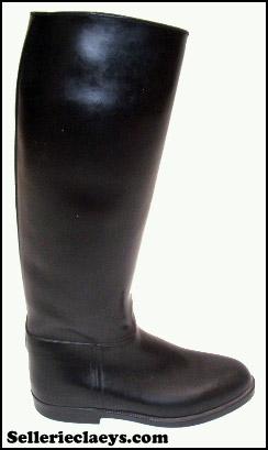 bottes aigle ancienne écuyer cuir
